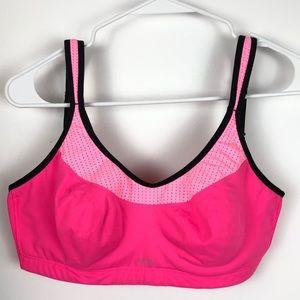 Victorias Secret VSX Sport Bra Pink Black 34DD